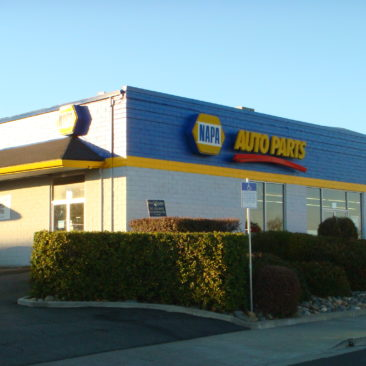 Commercial Painting Project - Napa Auto